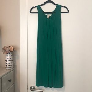 Max studio perfect green dress